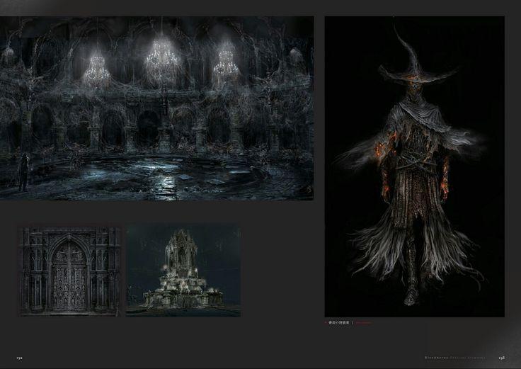 Bloodborne Concept Art - Bone Ash Attire/Area Concept Art