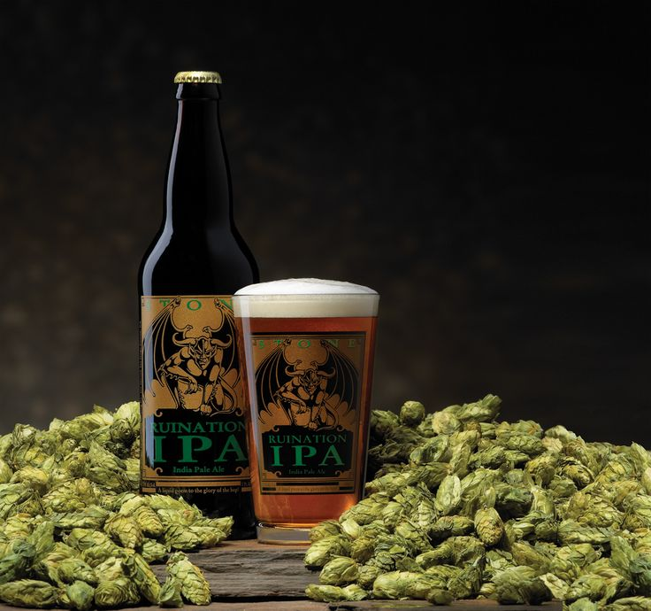 Stone Ruination IPA -- a liquid poem to the glory of the hop! (photo by StudioSchulz.com)  #craftbeer #stonebrewing