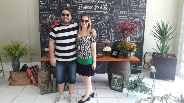 Chá Bar de Juliana e Luciano. Veja no blog: www.revistanovasnoivas.blogspot.com