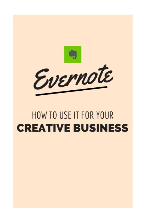 how to use evernote for your creative business from www.heathercrabtree.com