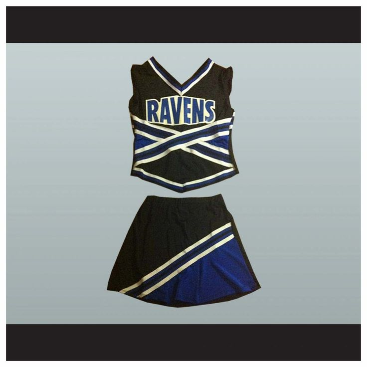 $80  One Tree Hill Ravens Cheerleader Uniform Stitch Sewn