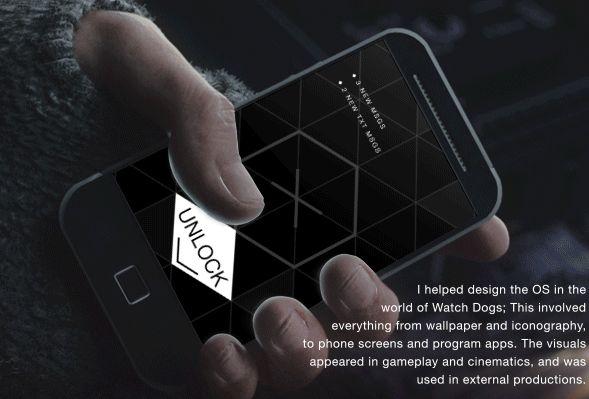 Watch Dogs - 2D visuals, Game UI and Cinematics   Abduzeedo Design Inspiration