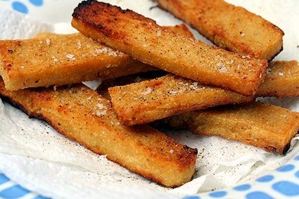 What's a panisse? A fried, chickpea flour cake from the south of France. Gluten-free, too.