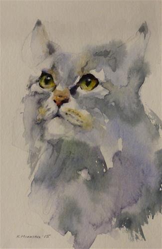 "Daily Paintworks - ""adopt112"" - Original Fine Art for Sale - © Katya Minkina"