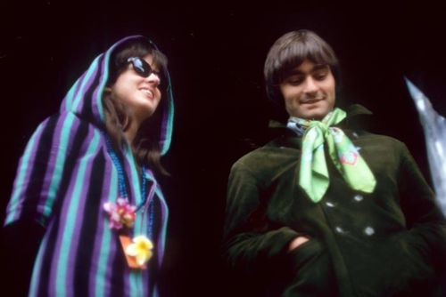Grace Slick and Marty Balin - lead singers with Jefferson Airplane/Jefferson Starship