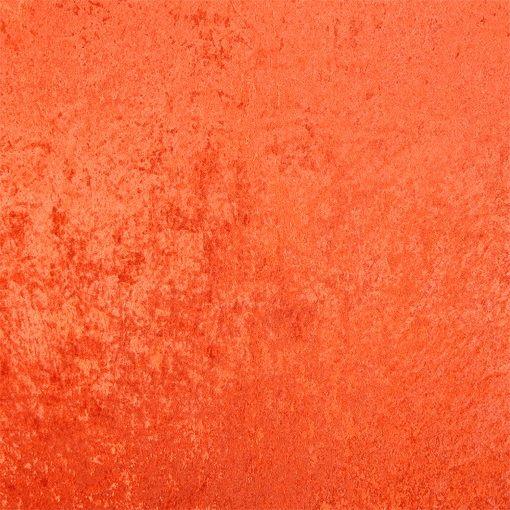 Crushed velvet burnt orange - Stoff & Stil