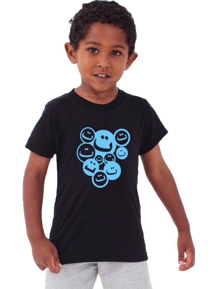 "Kid's ""Smiley"" Designer Islamic Tee"