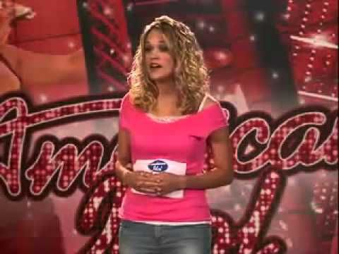 Carrie Underwood-American Idol Audition - YouTube I CAN't MAKE YOU LOVE ME.  One of my fav songs.  Written by my fav artist of all times...PRINCE.  Made famous by the best in the biz BONNIE RAITT.  Stumbled upon Carrie singing the crap out of it before she was anyone.  BRAVO!  She was destine to be a star.