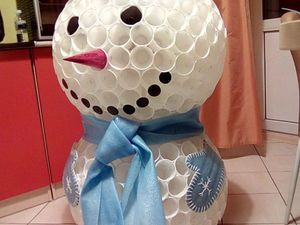 Снеговик в детский сад! | Ярмарка Мастеров - ручная работа, handmade