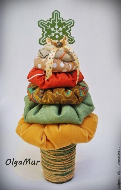 """Новый год 2015 ручной работы. Ярмарка Мастеров - ручная работа ёлочка """"Деревенская"""". Handmade."""