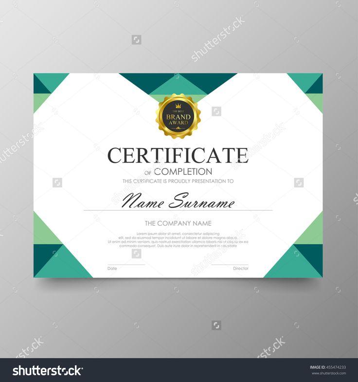 25+ melhores ideias de Certificate layout no Pinterest - certificate layout