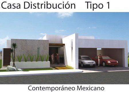 Casa estilo mexicano fachada buscar con google dise o - Casas con estilo moderno ...