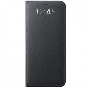 Husa Samsung Galaxy S8 (G950), Originala EF-NG950PBEGWW, Culoare Neagra, Tip Carte, Piele Ecologica