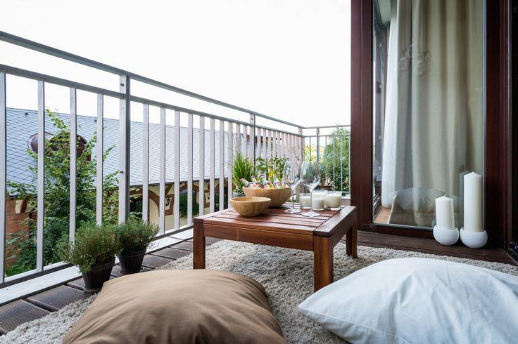 Útulne zariadená terasa