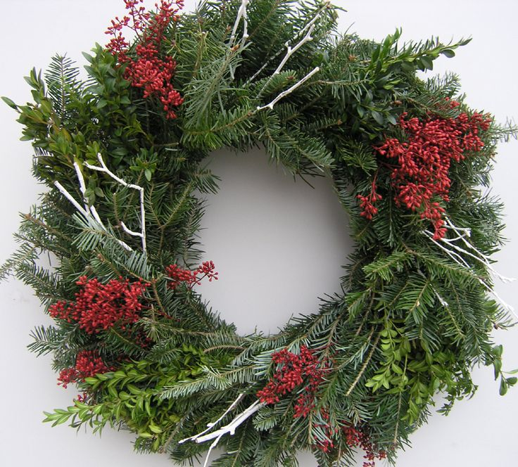 142 best Christmas wreaths images on Pinterest | Christmas wreaths ...