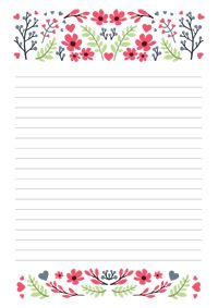 Levélpapír Letter paper
