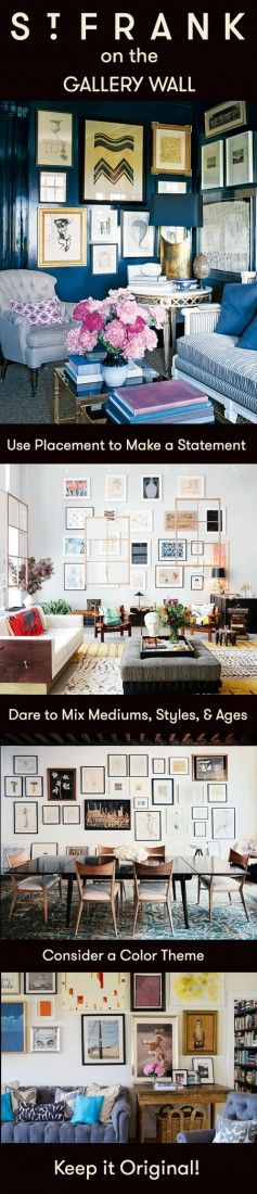 Read how to style the perfect gallery wall on our blog!