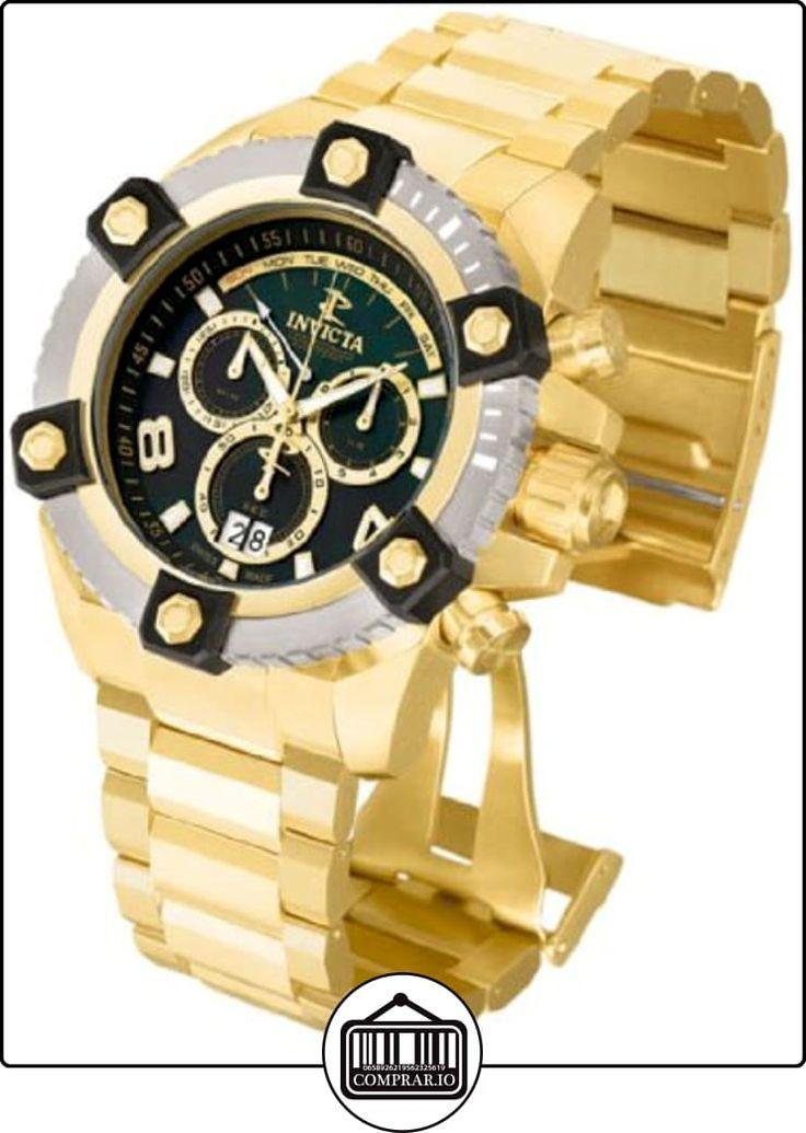 Invicta 80188Grand Arsenal Reserva 63mm, Dorado Reloj para hombre  ✿ Relojes para hombre - (Lujo) ✿