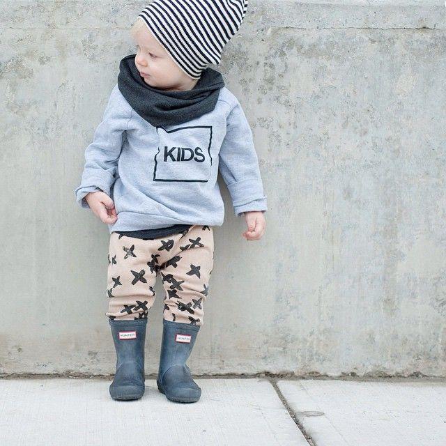 Stylish Binkie - cooles Outfits für Jungs