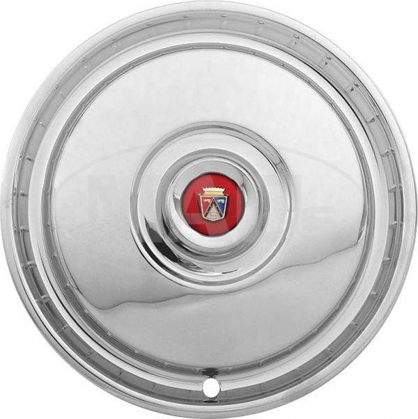 Ford Thunderbird Wheel Cover, 15-1/8 Diameter, Includes Center Medallion, 1955-56