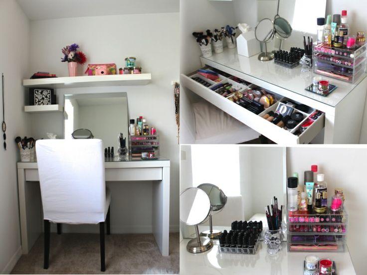my makeup storage …