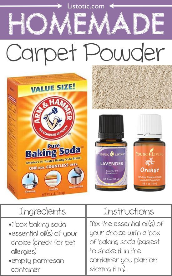 17 Best Ideas About Homemade Carpet Cleaners On Pinterest