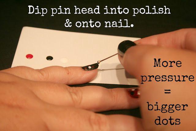 E l l e S e e s: DIY: School Spirit Nails