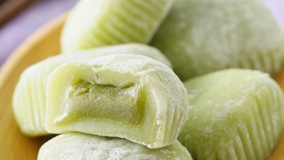Rezept: Grüne Mochi