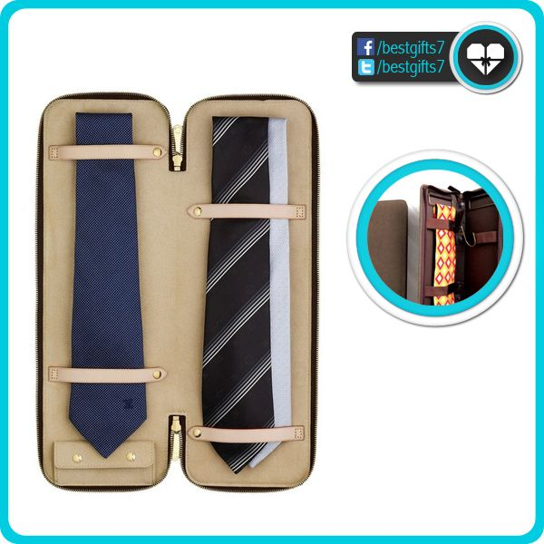 TIE CASE - [MEN'S ESSENTIALS!]  More here: http://amzn.to/1qnRJ7Y [like 'n share]