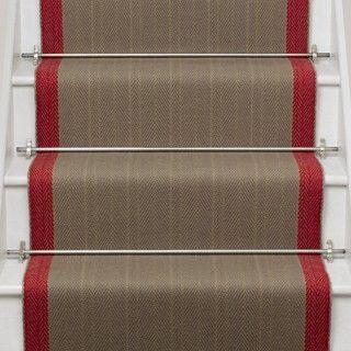Putney Brick (New) stair carpet