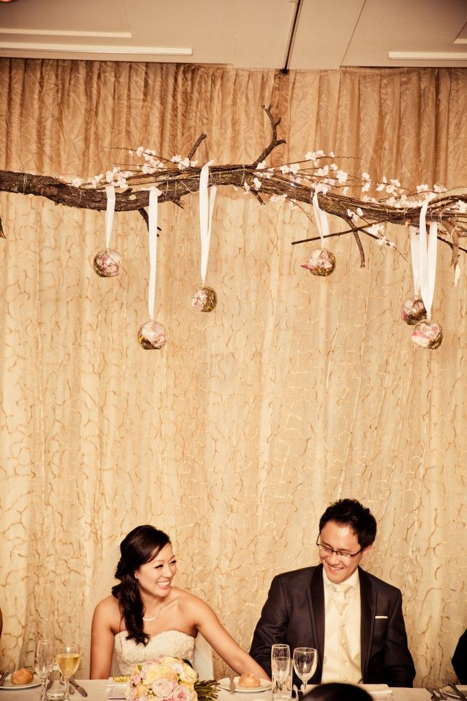 Bells N Whistles Event Wedding Clarita & Tony - Bridal Table Decor