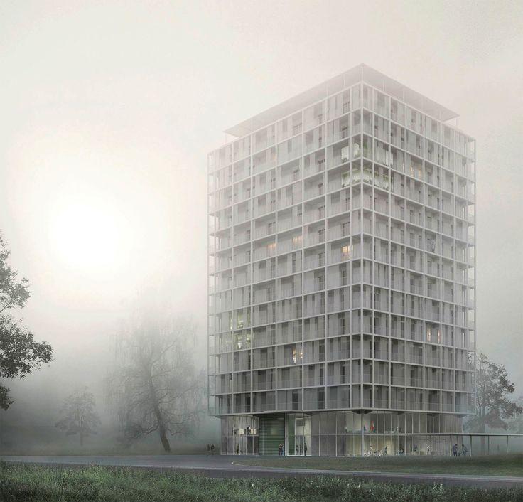 Hochhausentwicklungsplan für Berlin - Diskussion von Architektenkammer und Tagesspiegel in der Urania