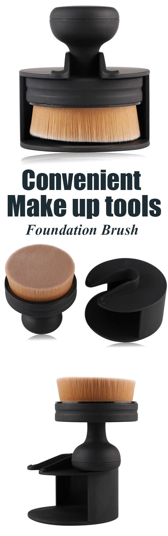 $11.30 Stamper Shape Nylon Foundation Brush