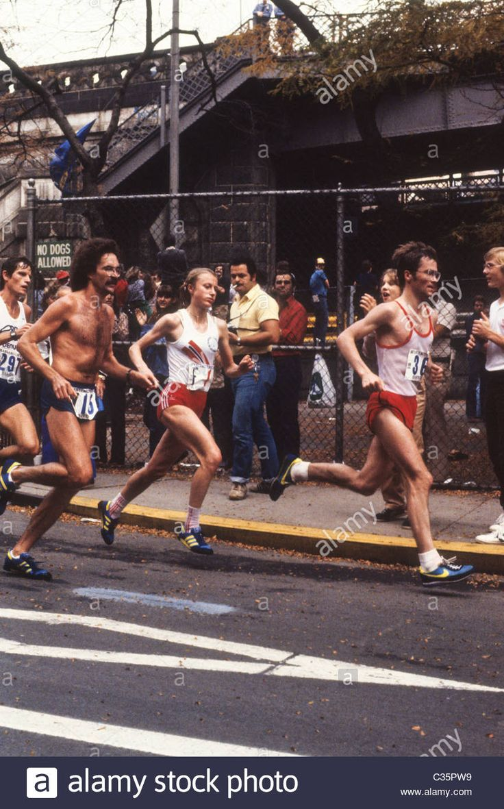"New York City Marathon 1985, 27 ottobre. Greta Waitz (1953-2011), 2h28'34"""