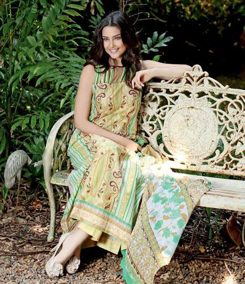 Gul Ahmed Embroidered Chantilly Chiffon Collection Vol-1 CT-86
