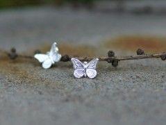Motýlí Ag naušnice
