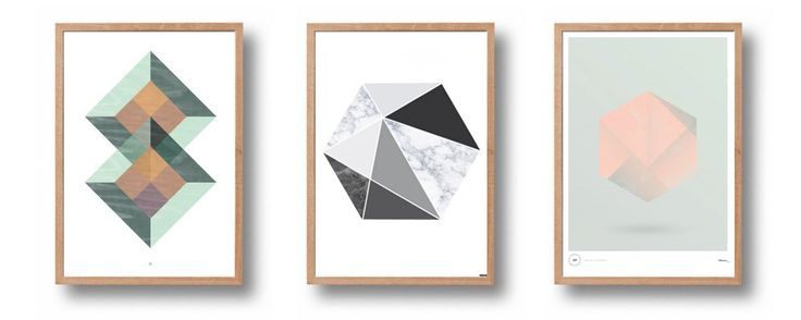 Geometric posters! From #wood+ink #frökenform #puldefranck   #geometric #nordicdesign #nordicdesigncollective #nordic #scandinavian #designers