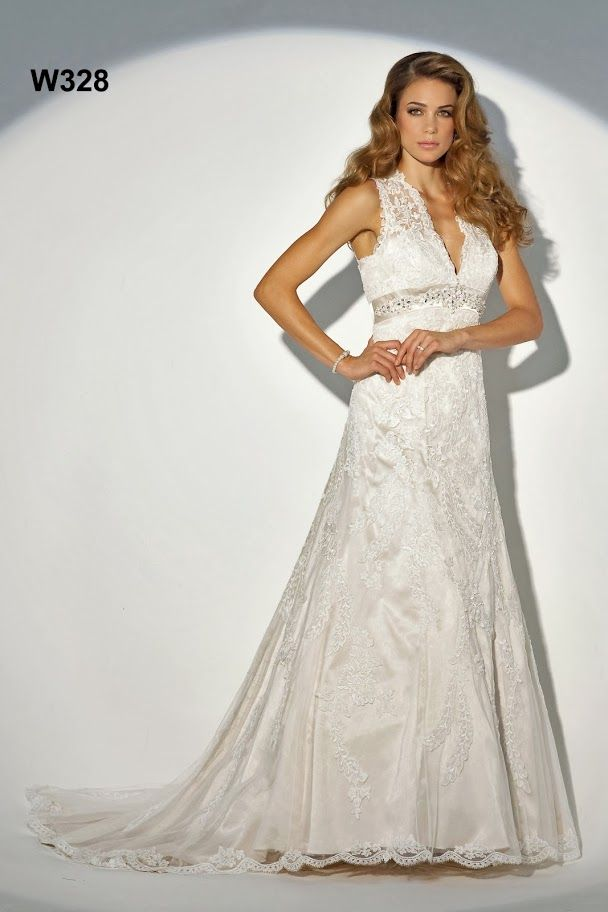 Alexia Designs W328 - Lace gown - Sugar and Spice UK - Lincoln