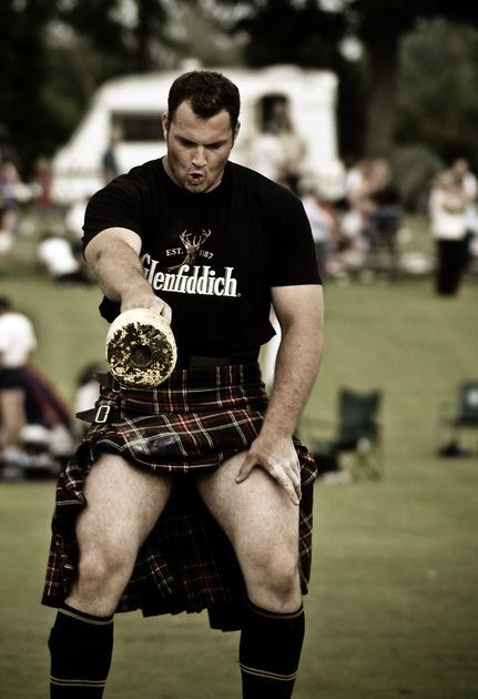 I'm only pinning this because the bit about the guy's pose is hilarious... Nothing to do with the topless men in the blue tartan a few below... Not at all...