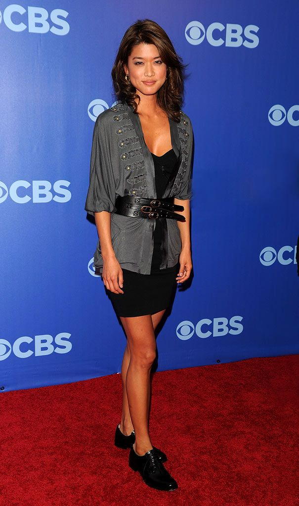 """Grace Park (""""Hawaii Five-O"""") attends the 2010 CBS UpFront at Damrosch Park, Lincoln Center on May 19, 2010 in New York City."""