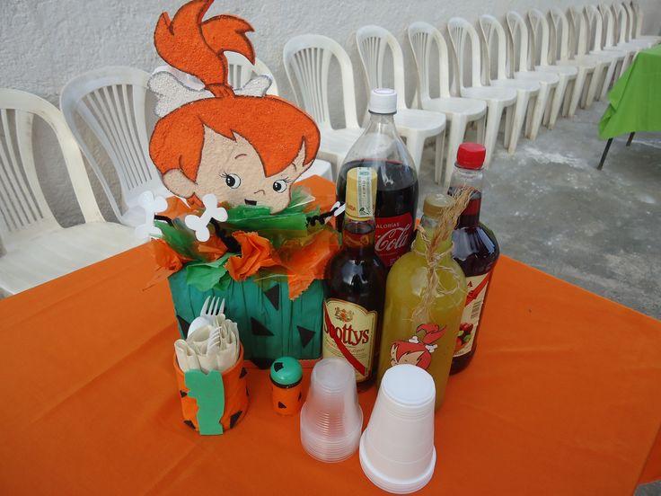 13 best fiesta de pebbles picapiedra images on pinterest - Ideas decorativas para cumpleanos ...