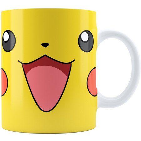 Caneca Personalizada Branca Pokemon Pikachu