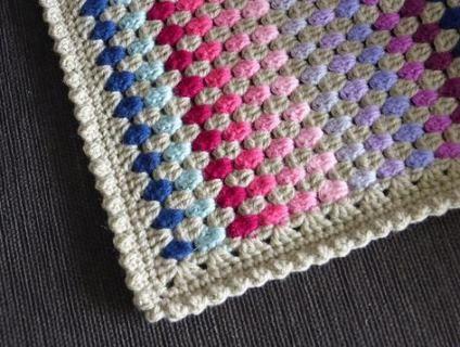 Crochet Granny Stripe Afghan Edging Attic 24 Jananas Granny Stripe Blanket Crochet Crochet Edging