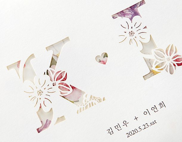 Best 8 korea wedding images on pinterest korea weddings and bodas wedding invitation cardscard stopboris Images