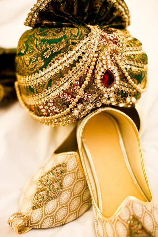 Groom's - so colourful and rich....