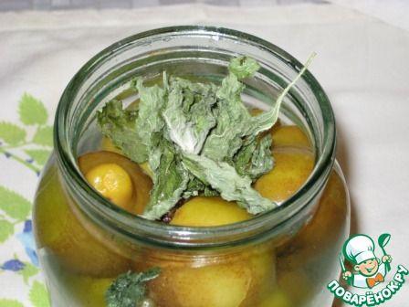 Грушки мятные, ароматные ингредиенты