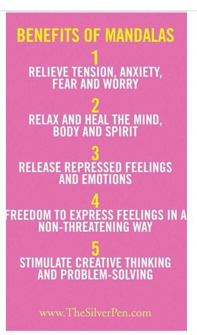 Benefícios da mandala