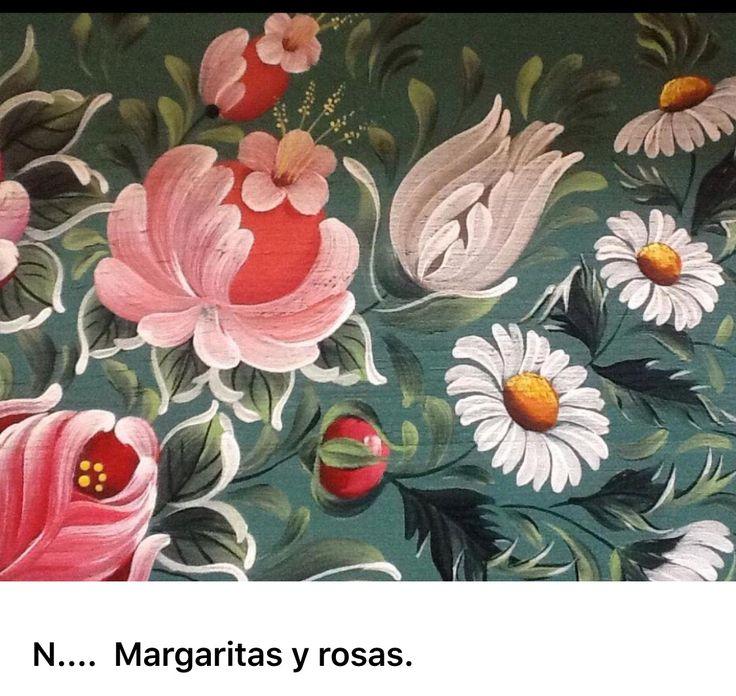 N.... Margaritas y rosas.