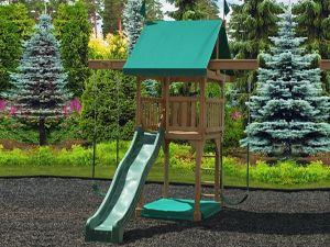 Happy Space Kid's Wooden Swingsets