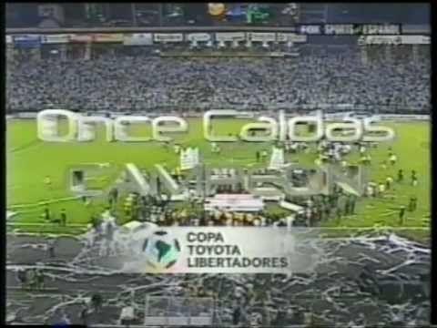 Once Caldas vs Boca Juniors Vuelta Copa Toyota Libertadores de America 2004